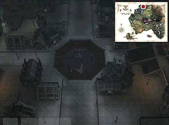 Village de départ des Elfes Noirs
