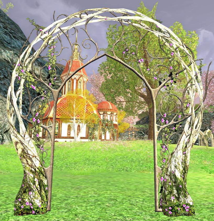 La porte de jardin de la Lorien