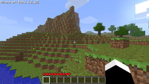 Minecraft Debut