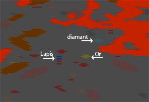Un editeur de maps permet de voir les strates du monde