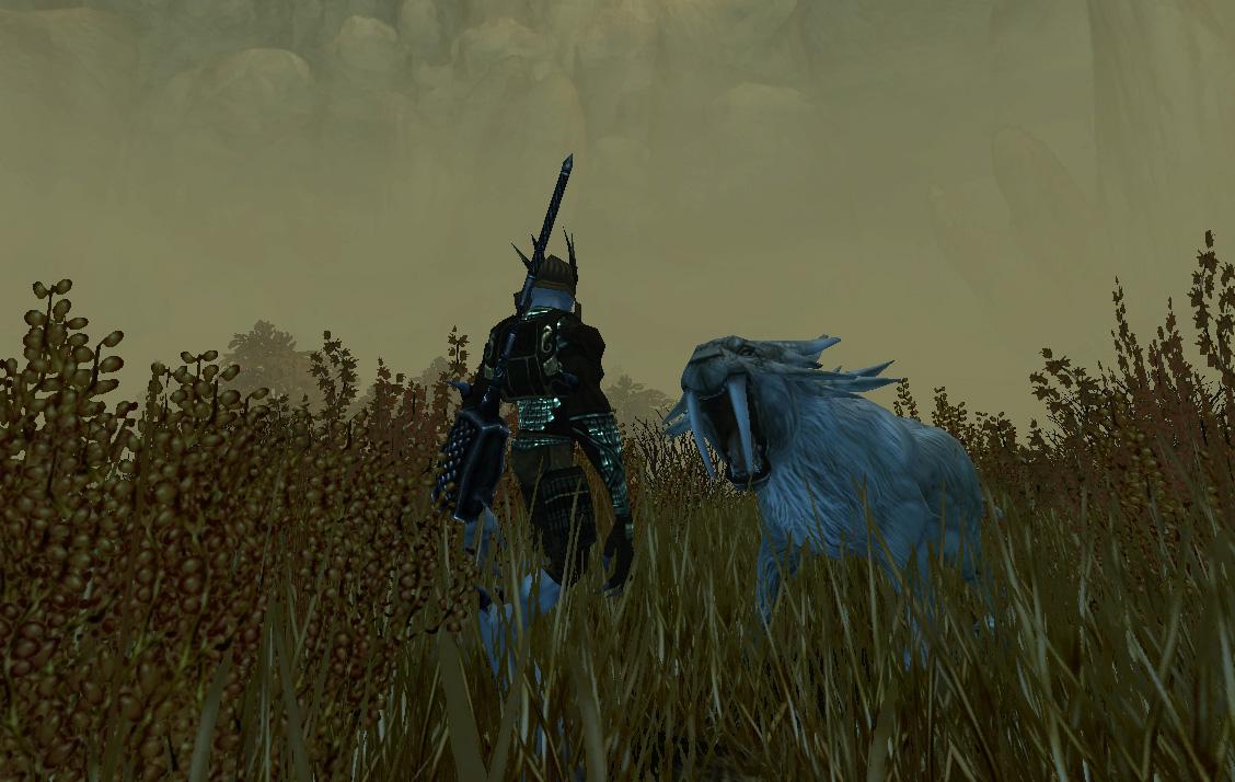 Attaque d'une créature dans les Plaines de Nightroar