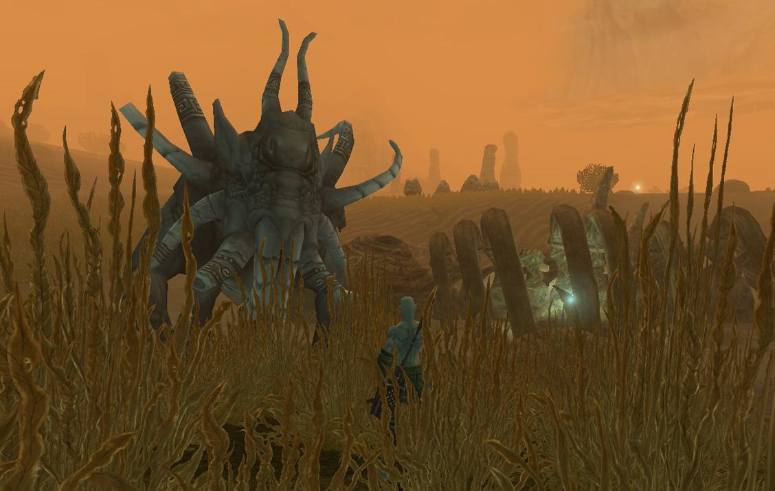 Les Dai-Gants qui résident dans les Dunes Ravagées sont moins amicaux qu'il n'y parait.