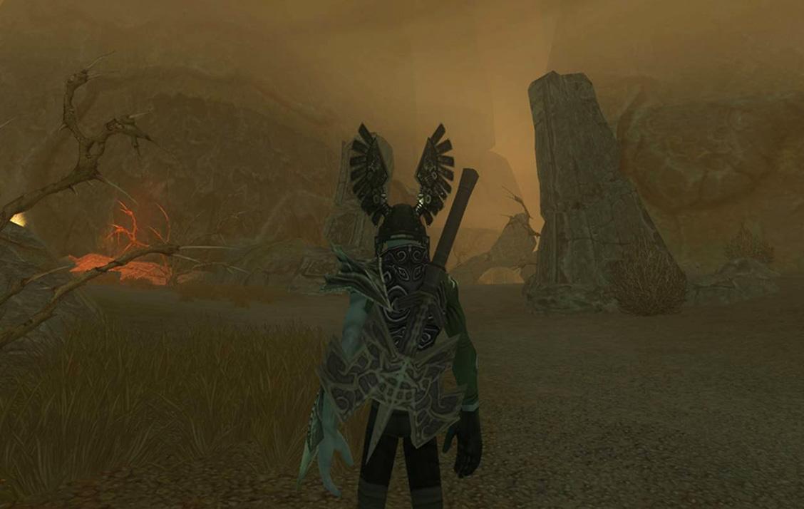 Des ruines ancestrales plongées sous le brouillard de Ringfell