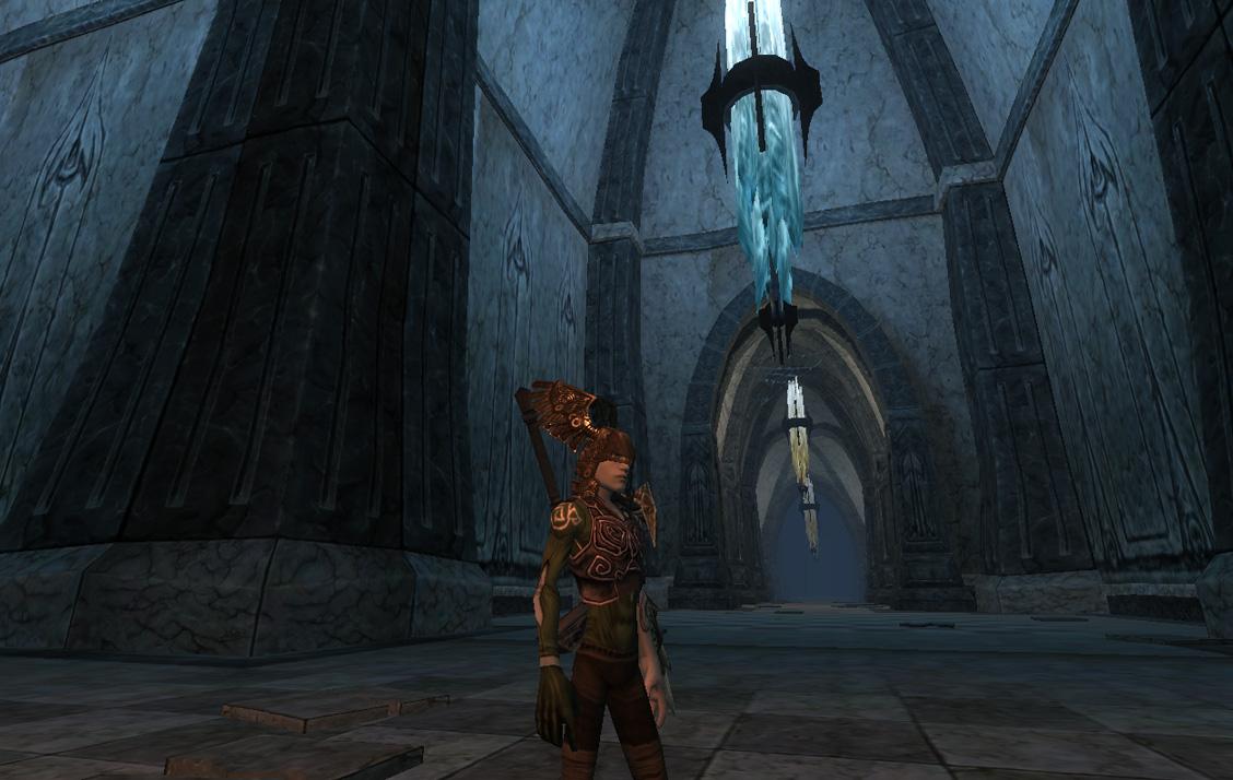 Les longs couloirs de la Tombe des Ancêtres