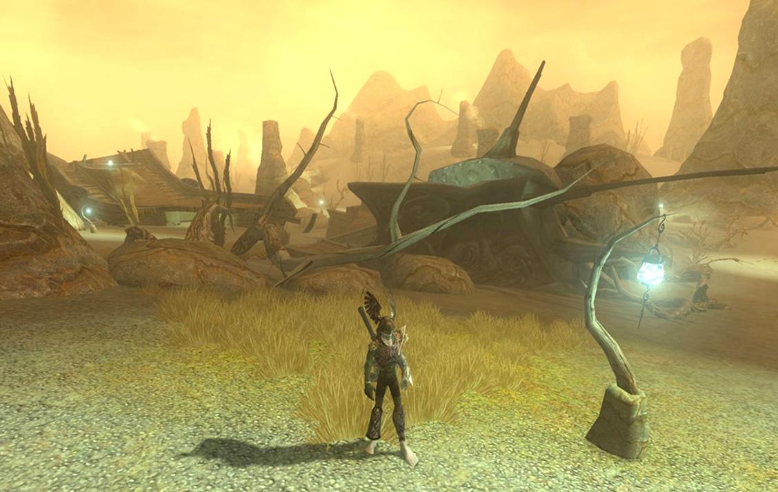 Les Terres de Grimbound sont le cimetière de navires qui voguaient autrefois sur la mer d'Ashanram.