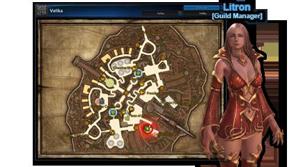 Litren, Guild Manager de Velika