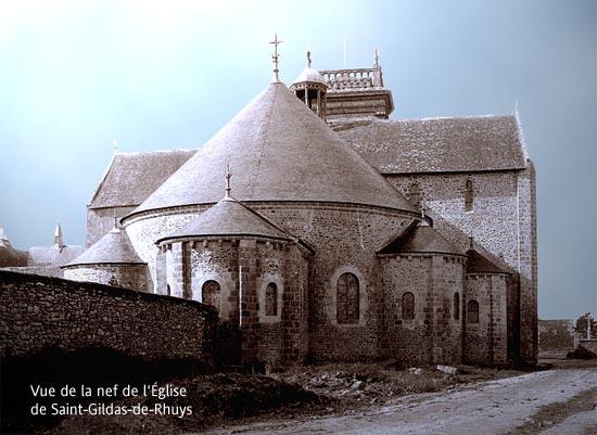 illustration : vue de la nef de l'église