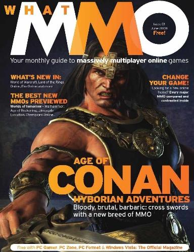 Age of Conan fait la couverture de l'e-zine