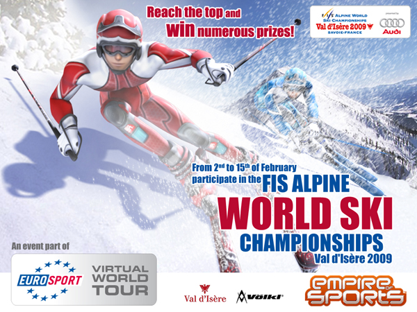 championnats du monde de ski EoS