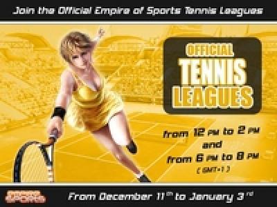 tennis league