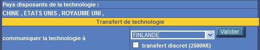 Technologie transfert