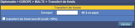 Transfert de fonds