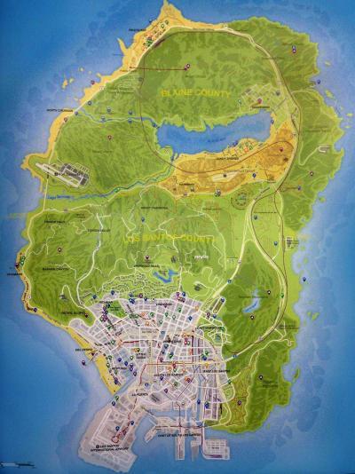 Map GTA V