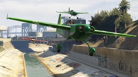 GTA Online - Course aérienne