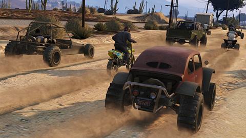 GTA Online - Course de rallye