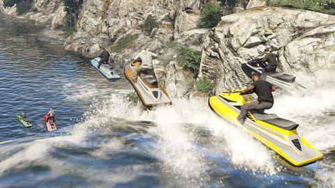 GTA Online - Course nautique