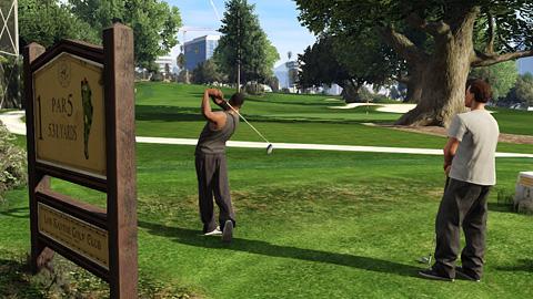GTA Online - Golf
