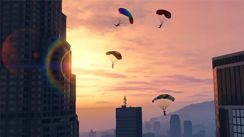GTA Online - Saut en parachute