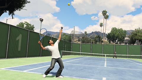 GTA Online - Tennis