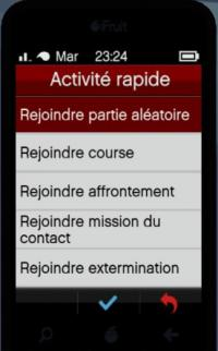 Activité rapide portable