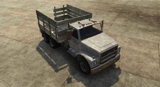 Camion de ferrailleur
