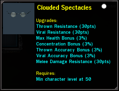 Clouded Spectacles