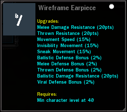Wireframe Earpiece