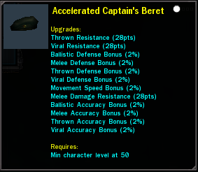 Accelerated Captain's Beret