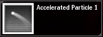 Accelerated Particule 1