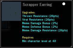 Scrapper Earring