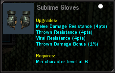 SublimeGloves