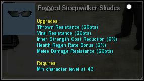 FoggedSleepwalkerShades