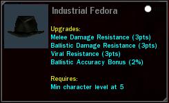 Industrial Fedora