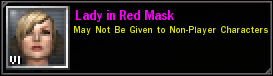 Laydy In Red Mask