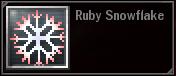 Ruby Snowflake