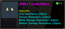 White Formal Shoes