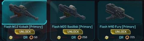 arme flash