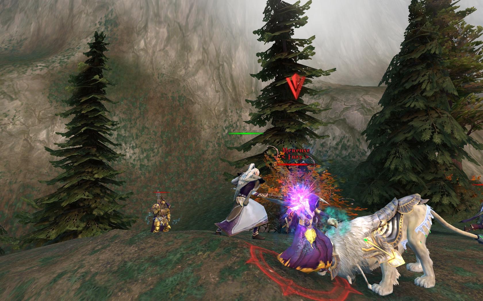 Un Lion blanc en combat RvR