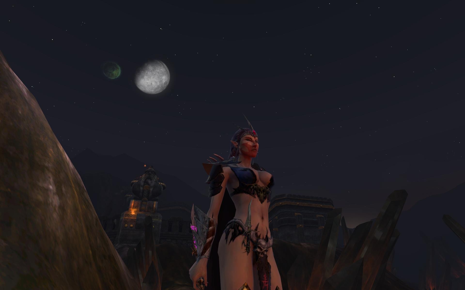 Une Furie au clair de lune