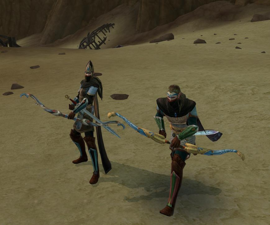 Deux Guerriers-Fantômes