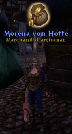 Marchand d'artisanat à Altdorf