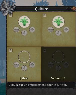 Les pots d'un cultivateur