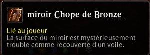 Miroir Chope de Bronze