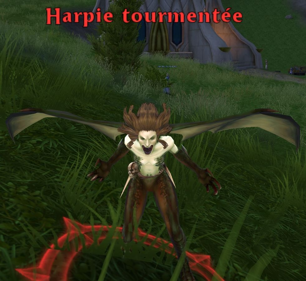 Harpie tourmentée