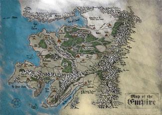 Warhammer le jeux de rôles fantastique [Warhammer] PartOneEmpireMap