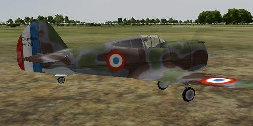 Atterrissage d'un H75