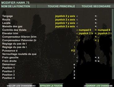 Exemple de configuration avec deux joysticks