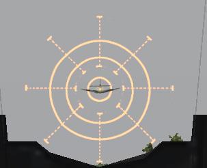 cible à 200m