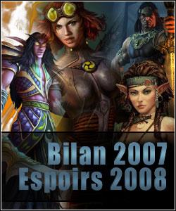 Bilan « MMO » de l'année 2007, espoirs pour 2008