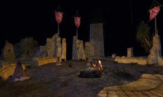 Candaith, le Rôdeur auquel la défense d'Amon Sûl a été confiée, a préparé la défense...